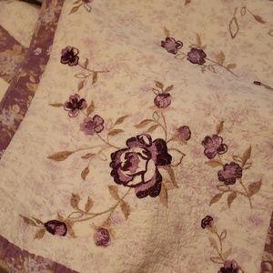 Rose quilt,  Full/Queen 90×90